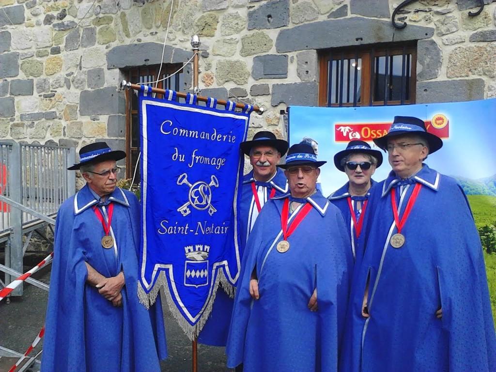 14 eme concours du fromage St nectaire à Murat le Quaire - la commanderie du fromage St nectaire