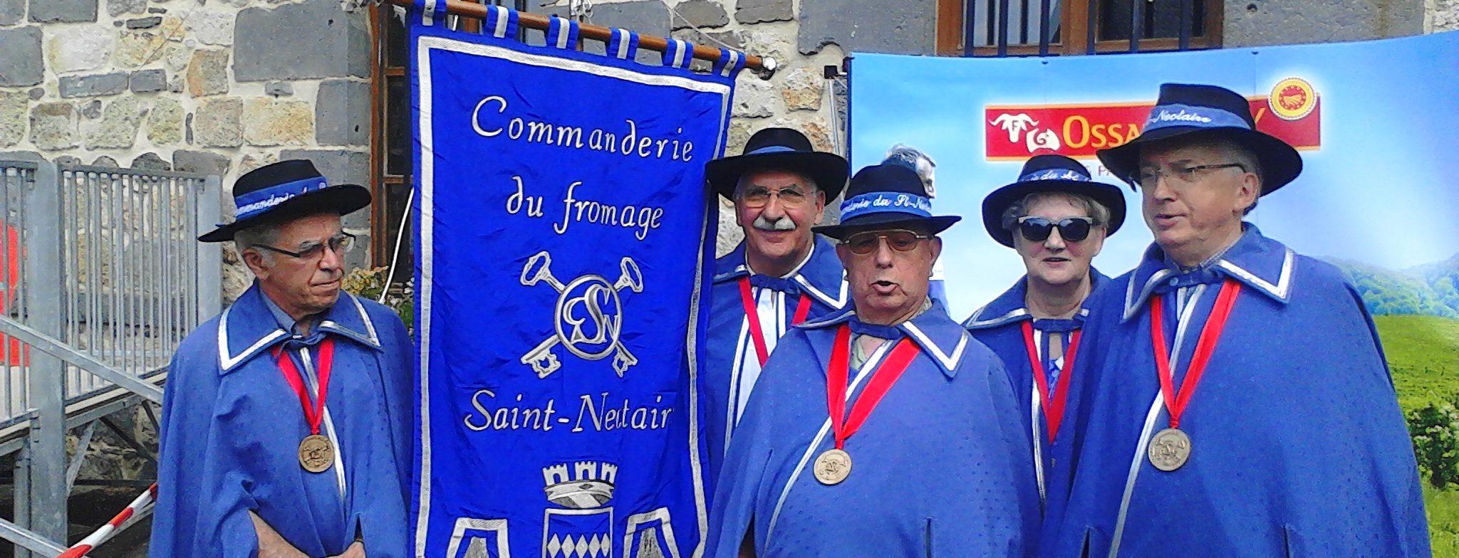 La commanderie du fromage Saint Nectaire